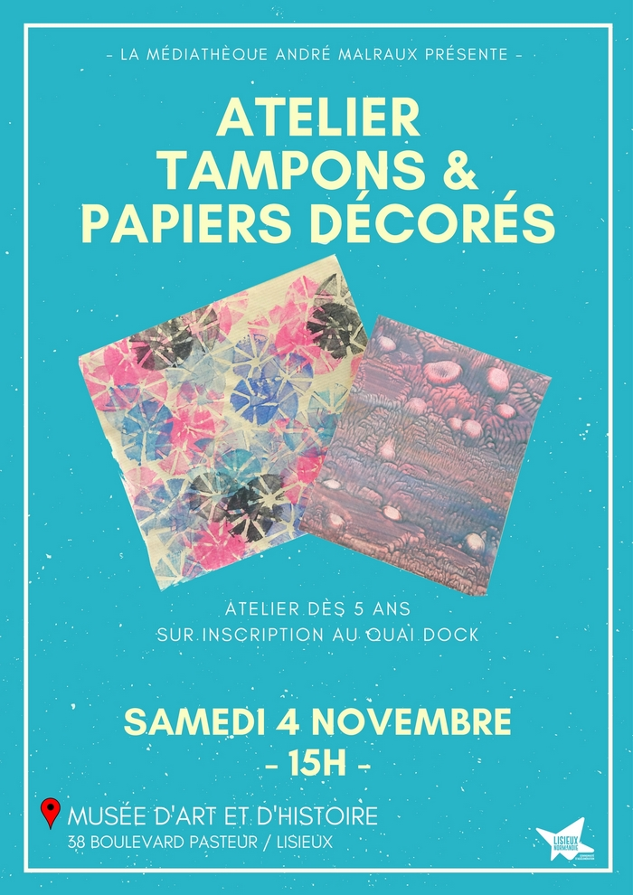 atelier tampons 4 novembre