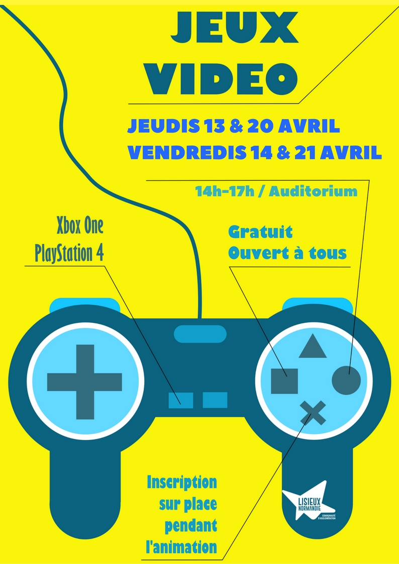 jeux video avril 2017