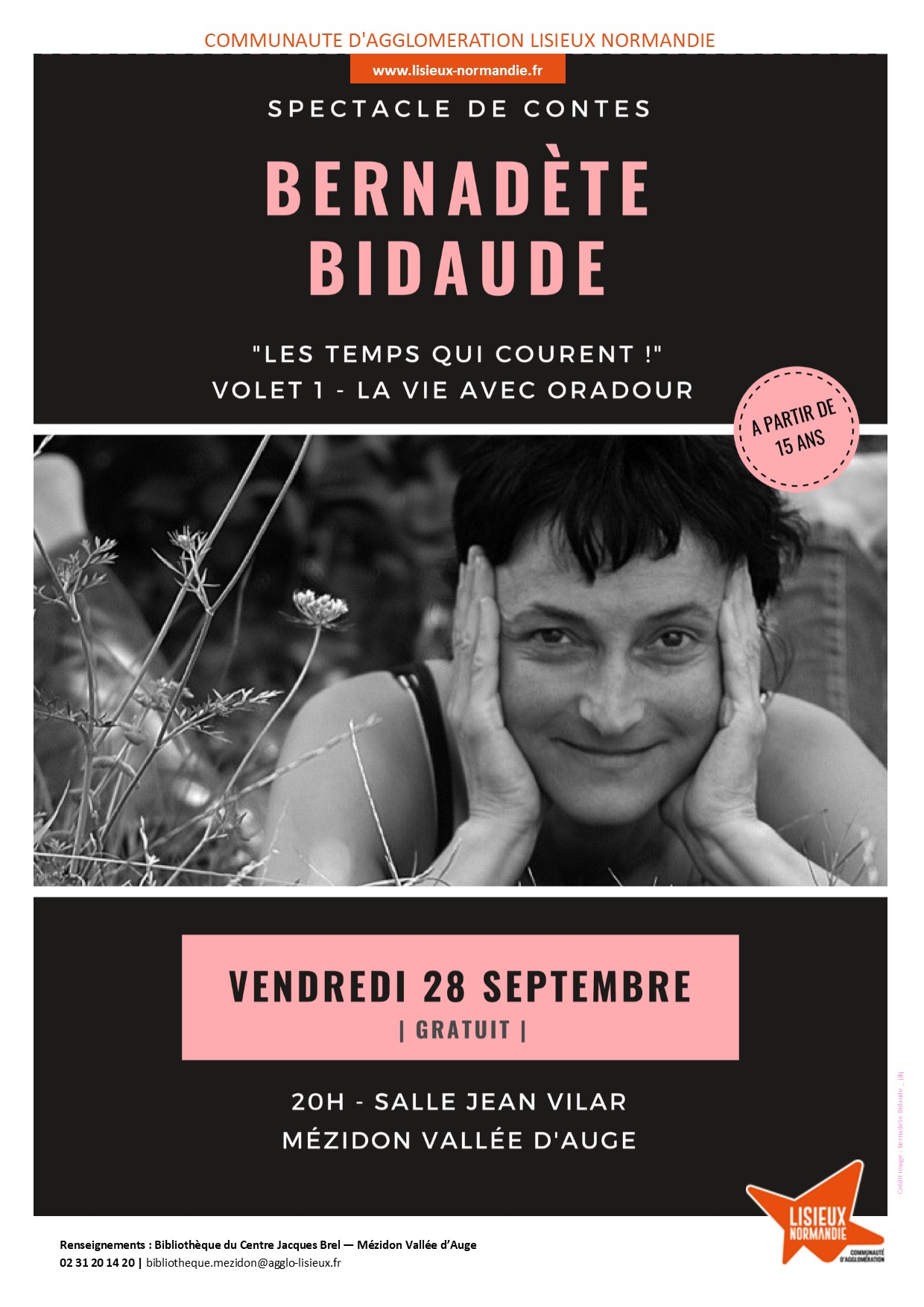 spectacle bidaude mezidon sept18