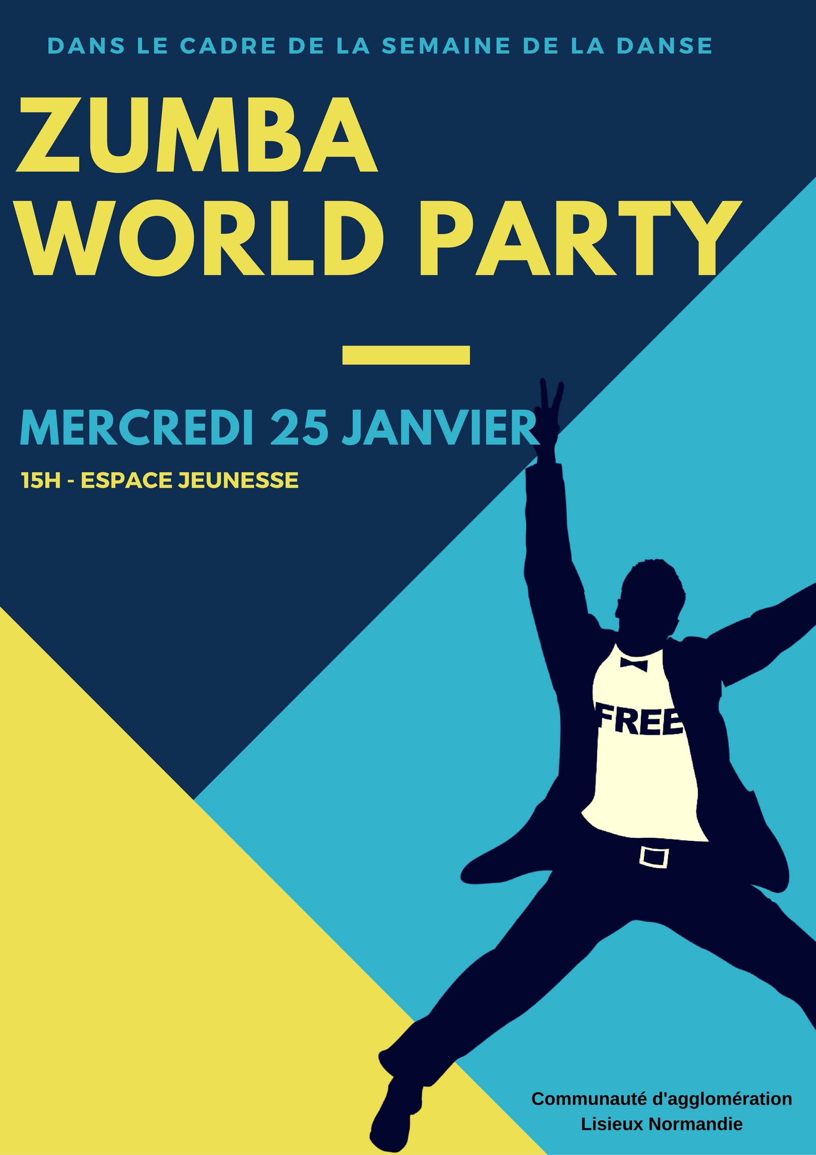 zumbaworld party 25 janvier